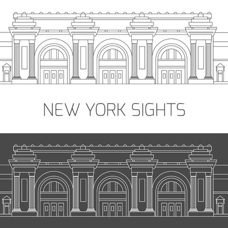 New York sights. Metropolitan Museum of Art Banco de Imagens - 82227159
