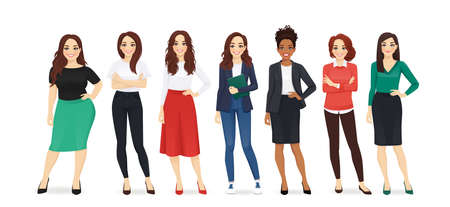 Elegant business women