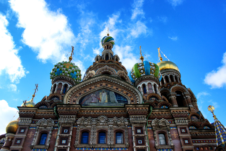savior: Church of the Savior on Blood, St. Petersburg, Russia.