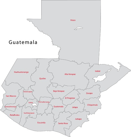 guatemala: Administrative divisions of Guatemala