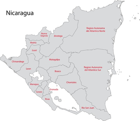 Administrative divisions of Nicaragua