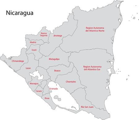 administrative divisions: Administrative divisions of Nicaragua