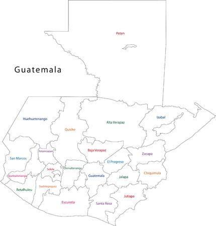 administrative divisions: Administrative divisions of Guatemala