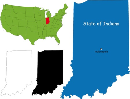 indianapolis: State of Indiana, USA