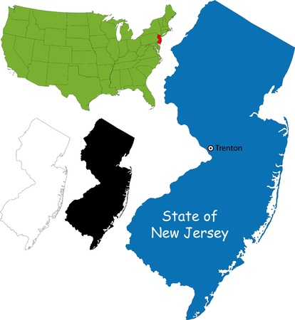 hudson: State of New Jersey, USA