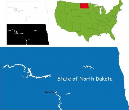 dakota: State of North Dakota, USA