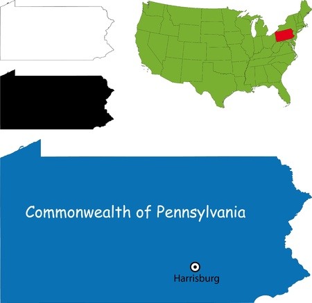 Commonwealth of Pennsylvania Illustration