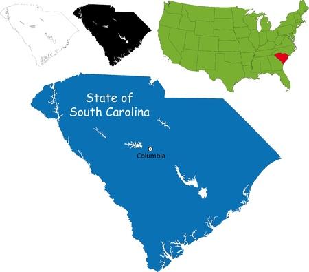 chester: State of South Carolina, USA