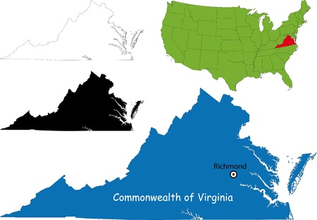 virginia: Commonwealth of Virginia, USA