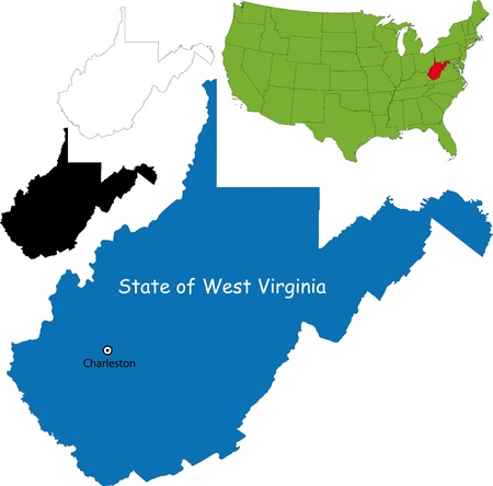 west virginia: State of West Virginia, USA