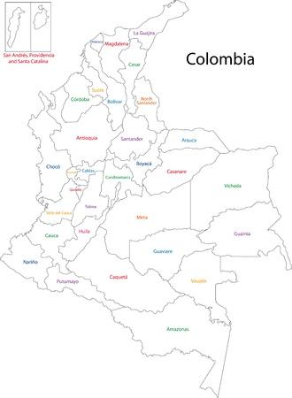 콜롬비아의 행정 구역