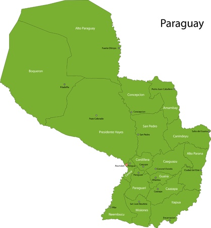 administrative divisions: Administrative divisions of Paraguay