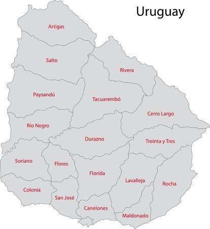 administrative divisions: Administrative divisions of Uruguay