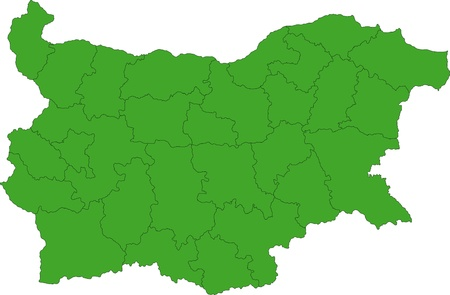 bulgaria, map, vector, surface, atlas, outline, state, white, boundary, province, european, location, region, graphic, clipping, administrative, contour, abstract, bulgarian, nation, illustration, district, chart, division, cartography, area, design, cut, Illustration