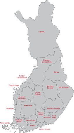 administrative divisions: Administrative divisions of Finland