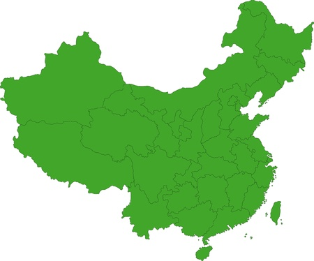 china map: Map of administrative divisions of China