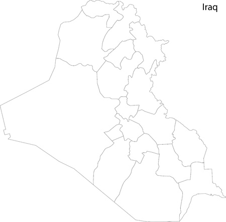 western asia: Map of administrative divisions of Iraq