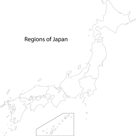 administrative divisions: Map of administrative divisions of Japan