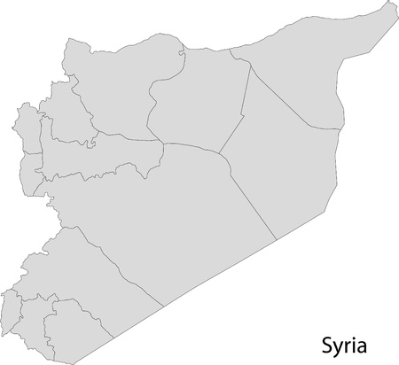 political division: Map of administrative divisions of Syria