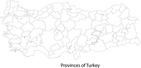 political division: Map of administrative divisions of Turkey