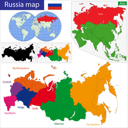 federation: Administrative division of the Russian Federation