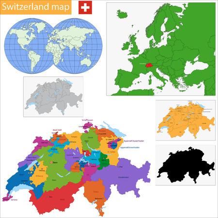 世界とドイツ、スイス、イタリア...