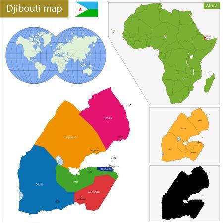 Administrative division of the Republic of Djibouti
