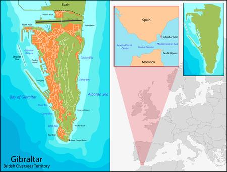 overseas: Gibraltar es un territorio brit�nico de ultramar situado en el extremo sur de la Pen�nsula Ib�rica en la entrada del Mediterr�neo