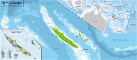 collectivity: New Caledonia is a special collectivity of France located in the southwest Pacific Ocean.