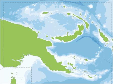Nuova Guinea: Lo Stato indipendente di Papua Nuova Guinea � un paese dell'Oceania che occupa la met� orientale dell'isola di Nuova Guinea e le isole off-shore in Melanesia.