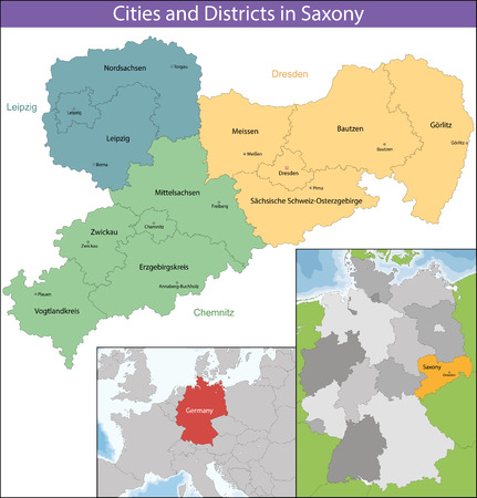 bordering: The Free State of Saxony is a landlocked federal state of Germany, bordering the federal states of Brandenburg, Saxony Anhalt, Thuringia, and Bavaria