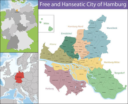germanic: Hamburg is the second largest city in Germany and the eighth largest city in the European Union