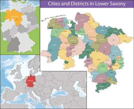 germanic: Lower Saxony is a German state situated in northwestern Germany