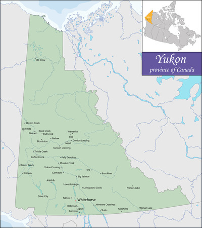 smallest: Yukon is the westernmost and smallest of Canada three federal territories