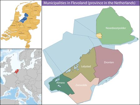 Friesland is a province of the Flevoland