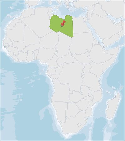 Libya is a country in the Maghreb region in North Africa