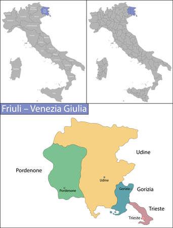 Friuli Venezia Giulia is a region in northeast Italy