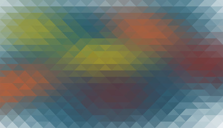 delta: Triangular geometric background in different color.