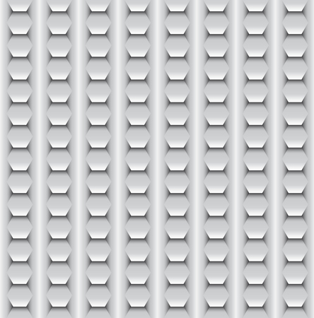 Seamless, pattern background made of same elements look like a squama or metal plates