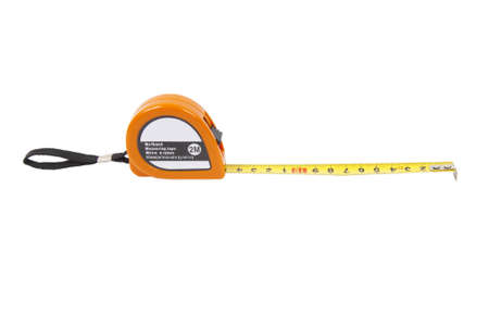 measuring line on a white background photo