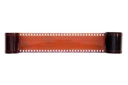 film  on  white background photo