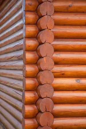 wooden beams: horizontal wooden beams Stock Photo
