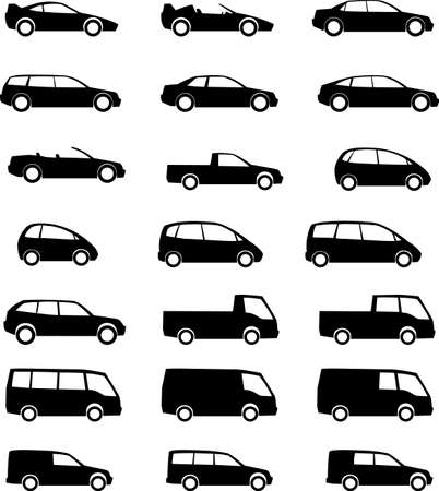 vehicles silhouette