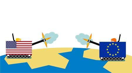 usa vs europan union