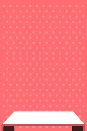 Color of the year Living Coral. Vector illustration design for advertising, blog posts, flyers, banners, posters, cards. Vector mockup