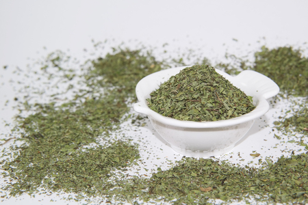 whiff: dried mint