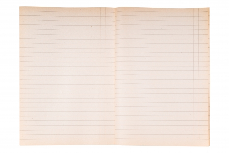 Striped notebook paper texture with margin