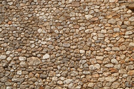 Texture of a stone wall.  texture background. Part of a stone fortress or castle, for background or texture