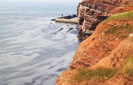 helgoland: helgoland island-germany Stock Photo