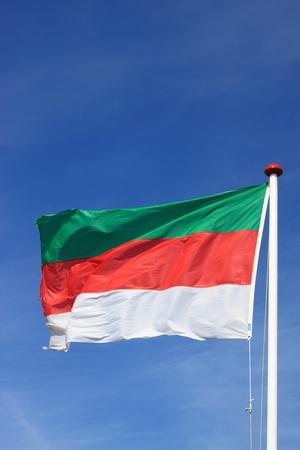 flag of helgoland-germany photo